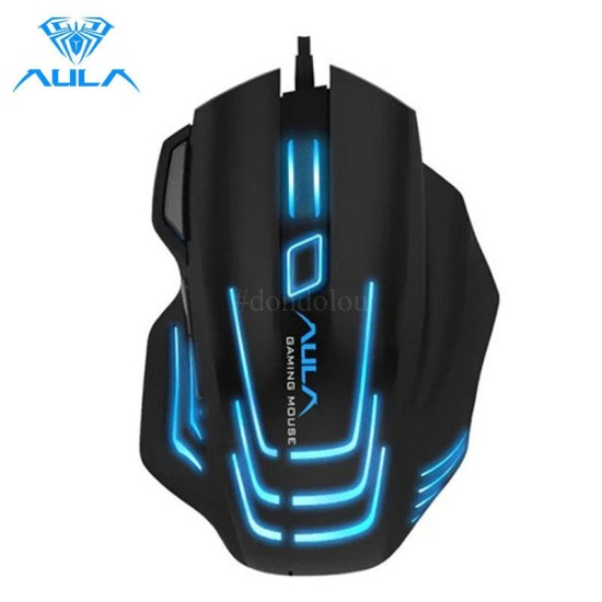 AULA S18 Backlit Gaming Mouse Wired Optical