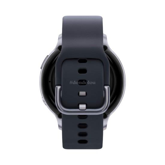 Samsung Galaxy Watch Active2 Silicon Strap Aluminum Bezel Bluetooth - R820-44mm